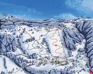 Snowpark Rejdice-mapa areálu